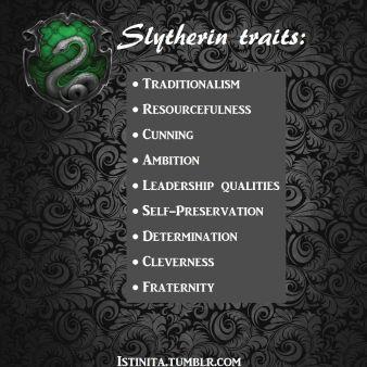 slytherin traits